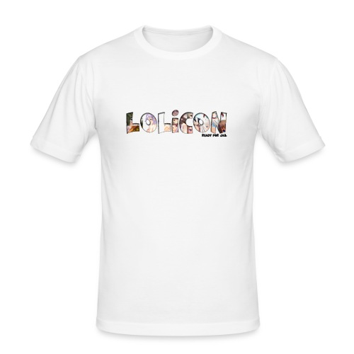 lolicon ready for jail - T-shirt près du corps Homme