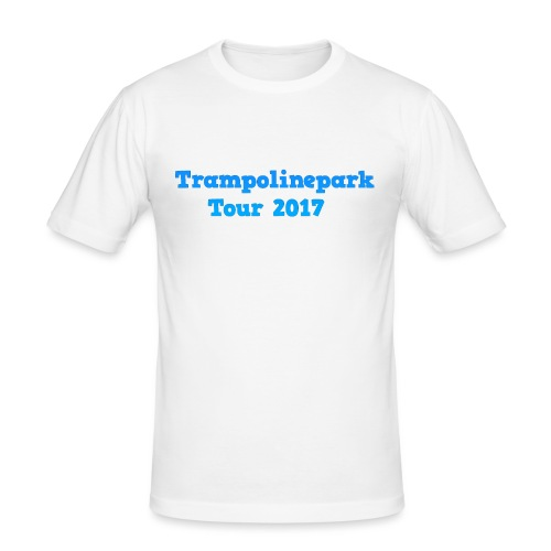 Trampolinepark Tour 2017 - Mannen slim fit T-shirt