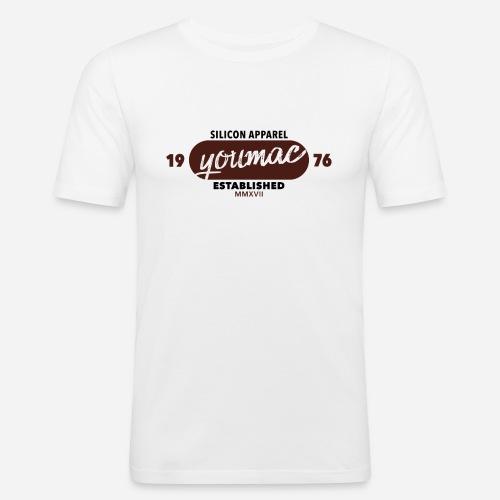 youmac est. MMXVII - Männer Slim Fit T-Shirt