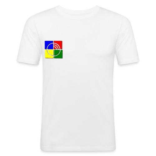jungschar logo schatten - Männer Slim Fit T-Shirt