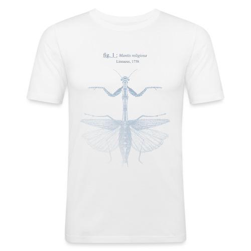 mantis religiosa - bleue - T-shirt près du corps Homme