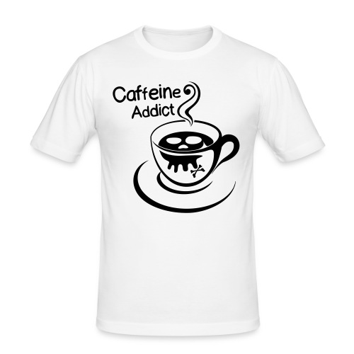 Caffeine Addict - slim fit T-shirt
