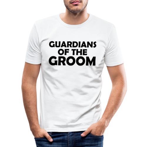 Wächter des Bräutigam JGA Junggesellenabschied - Männer Slim Fit T-Shirt