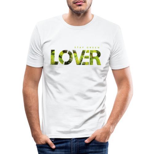 Stay Green Lover - Maglietta aderente da uomo