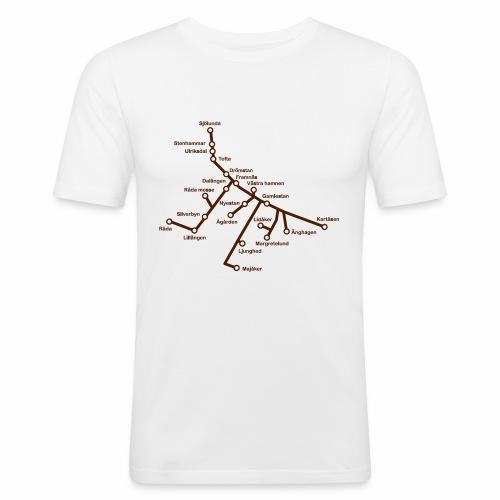 Lisch Tisch Hoods - Slim Fit T-shirt herr