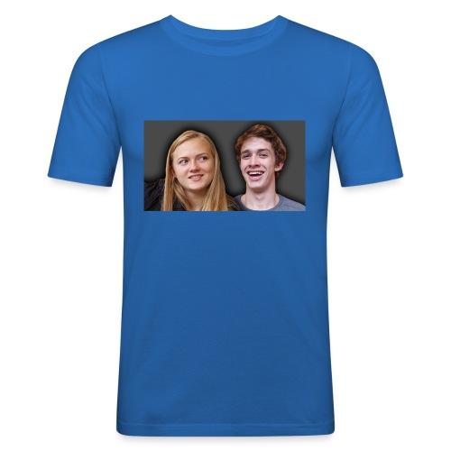 Profil billede beska ret - Herre Slim Fit T-Shirt