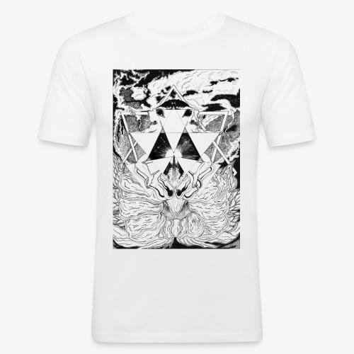 Primal Ordeal by Rivinoya - Miesten tyköistuva t-paita