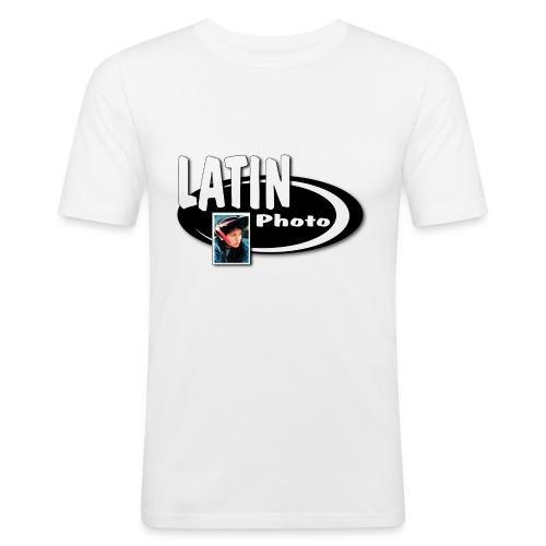 logotrans - Camiseta ajustada hombre