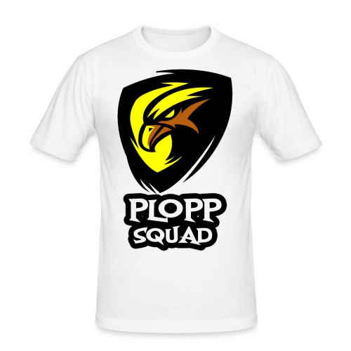 Plopp Squad - Slim Fit T-shirt herr