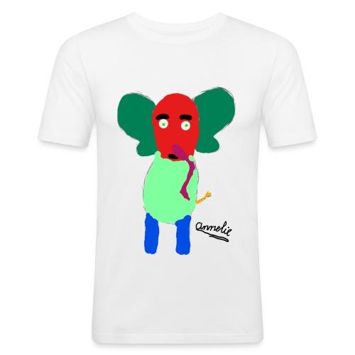 Annelie - Mannen slim fit T-shirt