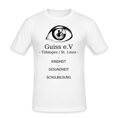 Guiss e.V - Männer Slim Fit T-Shirt