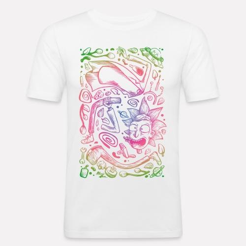 Space decomposition - T-shirt près du corps Homme