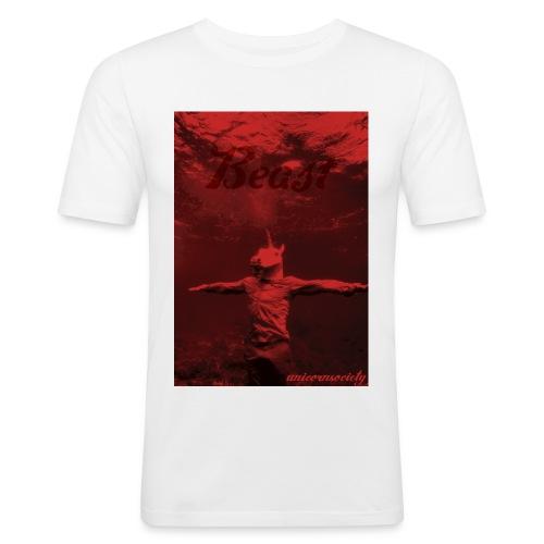 underwater beast redvelvet - Männer Slim Fit T-Shirt