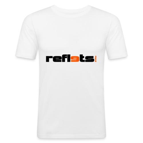 logo reflets png - T-shirt près du corps Homme