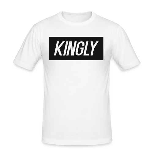 Kingly Basic Motive - Men's Slim Fit T-Shirt