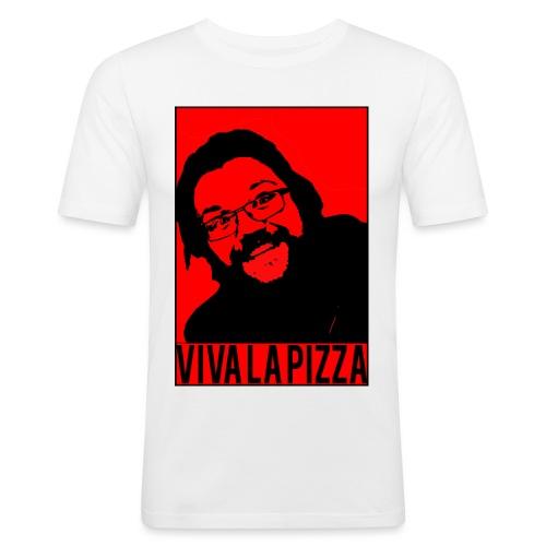 Viva La Pizza - Men's Slim Fit T-Shirt