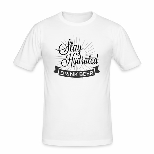 Stay Hydrated - Men's Slim Fit T-Shirt