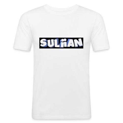 Suliian -Schrift 1 - Männer Slim Fit T-Shirt
