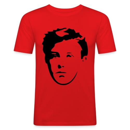 Arthur Rimbaud visage - T-shirt près du corps Homme
