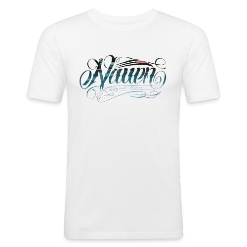 stadtbad edition - Männer Slim Fit T-Shirt