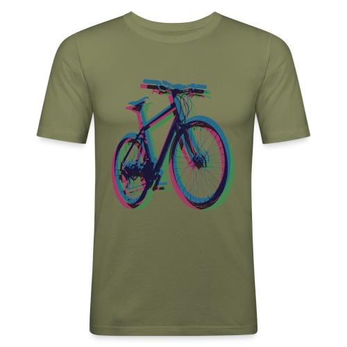 Bike Fahrrad bicycle Outdoor Fun Mountainbike - Men's Slim Fit T-Shirt