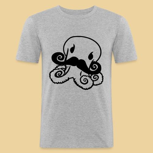 Gentle Octo - Männer Slim Fit T-Shirt