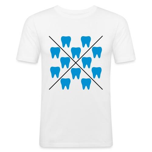 Zähne - Männer Slim Fit T-Shirt