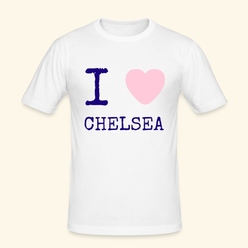 I Love Chelsea 2017 - Men's Slim Fit T-Shirt