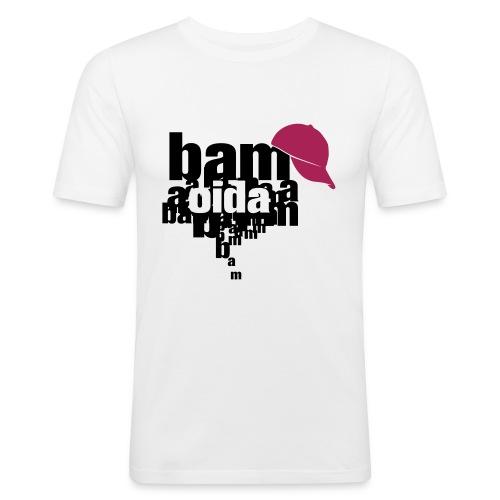 bam oida bam - Männer Slim Fit T-Shirt