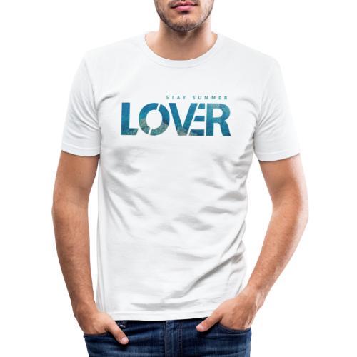 Stay Summer Lover - Maglietta aderente da uomo