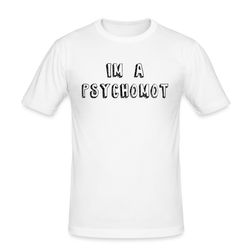 I'M A PSYCHOMOT - T-shirt près du corps Homme