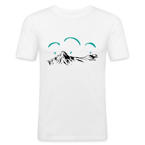 Paragliding Paragleiter Gleitschirm - Männer Slim Fit T-Shirt