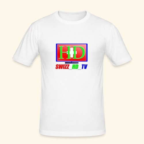 SWIZZ HD TV - Männer Slim Fit T-Shirt