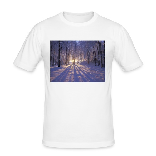 Wintercollectie - Mannen slim fit T-shirt