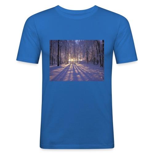Wintercollectie - Mannen slim fit T-shirt