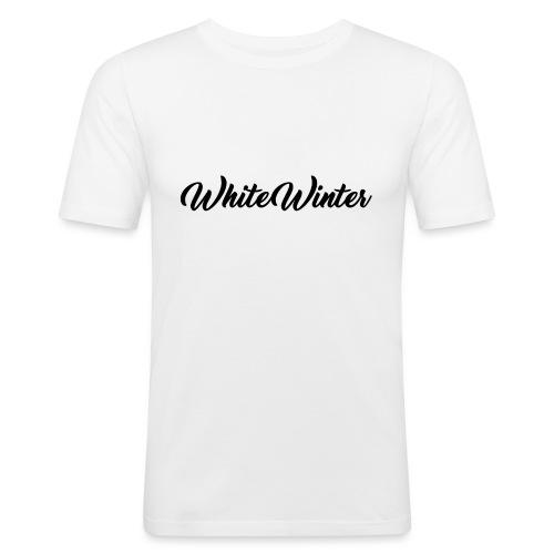White Winter - T-shirt près du corps Homme