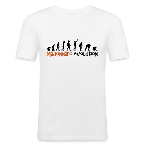 madonnaro evolution original - Men's Slim Fit T-Shirt