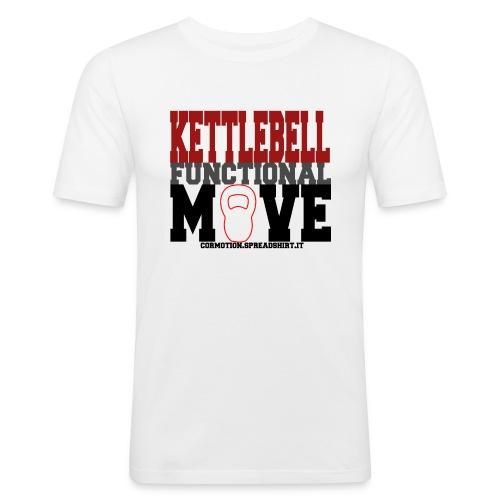 KETTLEBELL FUNCTIONAL MOVE gif - Maglietta aderente da uomo