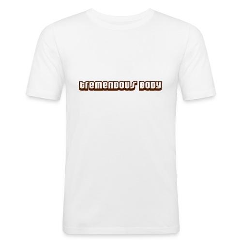 tremendous body smaller - T-shirt près du corps Homme