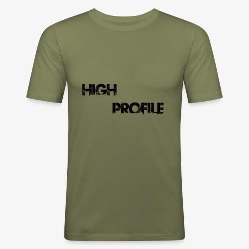 HIGH PROFILE SIMPLE - Men's Slim Fit T-Shirt