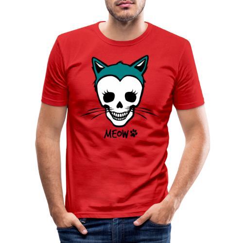 Katzenliebe für immer - Männer Slim Fit T-Shirt