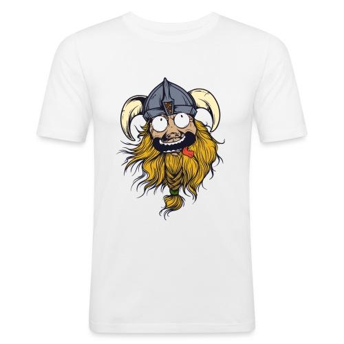 Crazy Viking - Männer Slim Fit T-Shirt