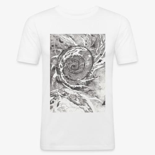 Decipher Entity by Rivinoya - Miesten tyköistuva t-paita