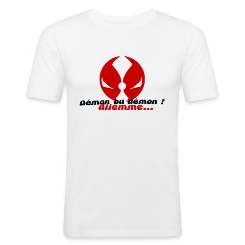 démon ou démon - T-shirt près du corps Homme