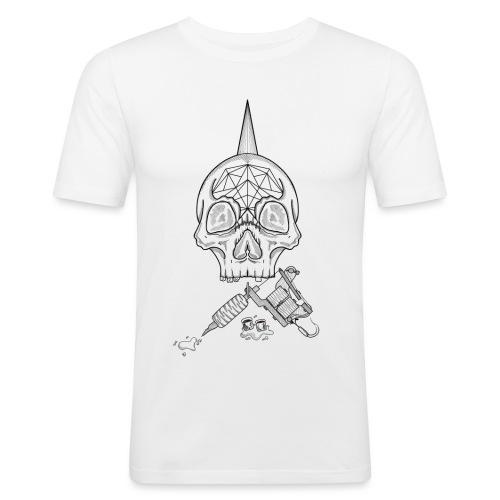 Skull tattoo - T-shirt près du corps Homme