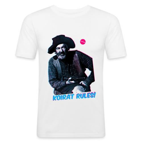 koiratrules - Miesten tyköistuva t-paita