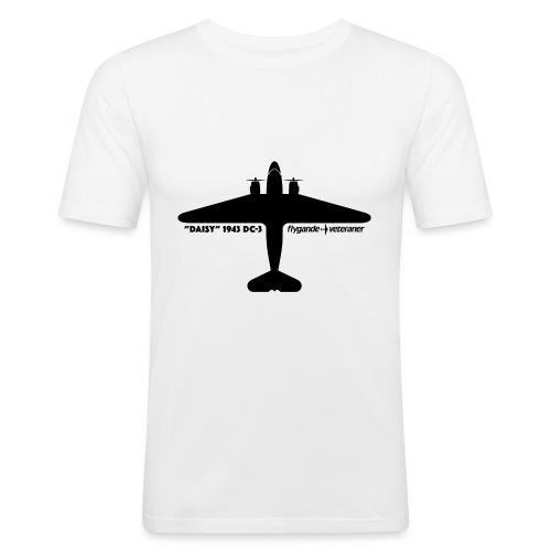 Daisy Silhouette Top 1 - Slim Fit T-shirt herr