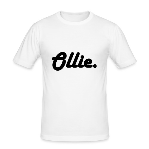 Ollie Harlow Solid - Mannen slim fit T-shirt