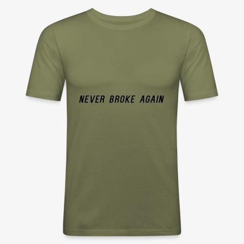 Black logo - T-shirt près du corps Homme