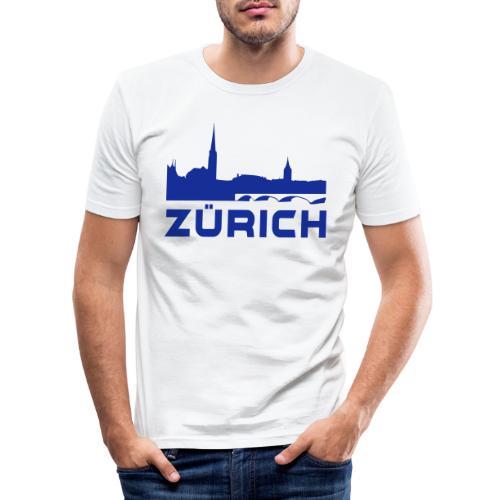 Zürich - Männer Slim Fit T-Shirt